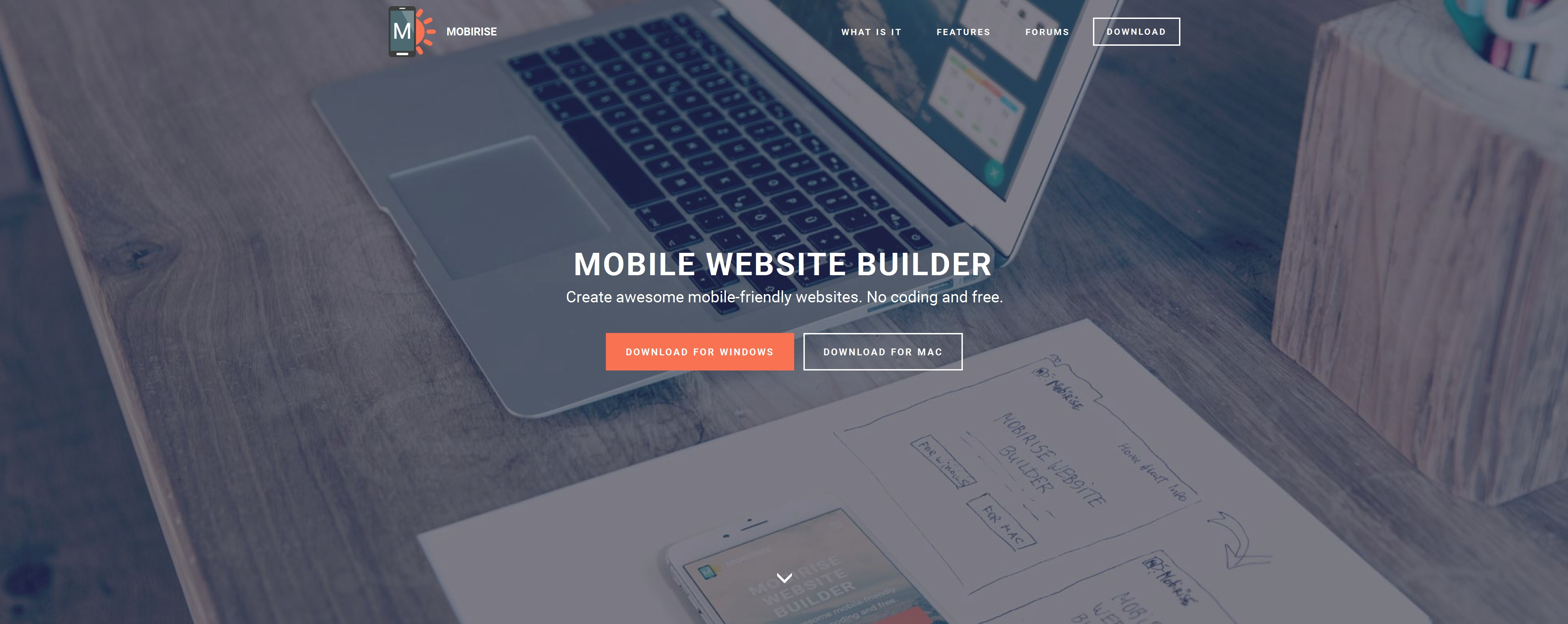 Bootstrap Mobile Website Maker