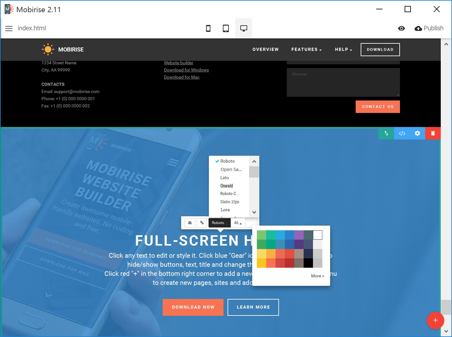 Website Creator Software Download Lengkap