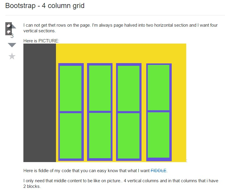 Bootstrap Grid Table
