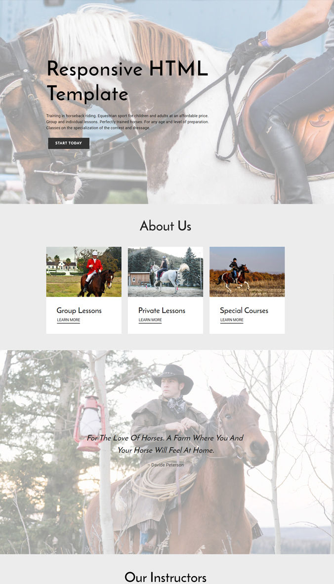 Awesome Template for Website